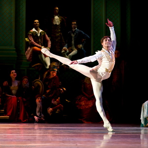 Friedemann Vogel in the Sleeping Beauty © Royal Swedish Ballet