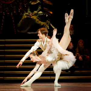 Nadja Sellrob and Friedemann Vogel in the Sleeping Beauty © Royal Swedish Ballet