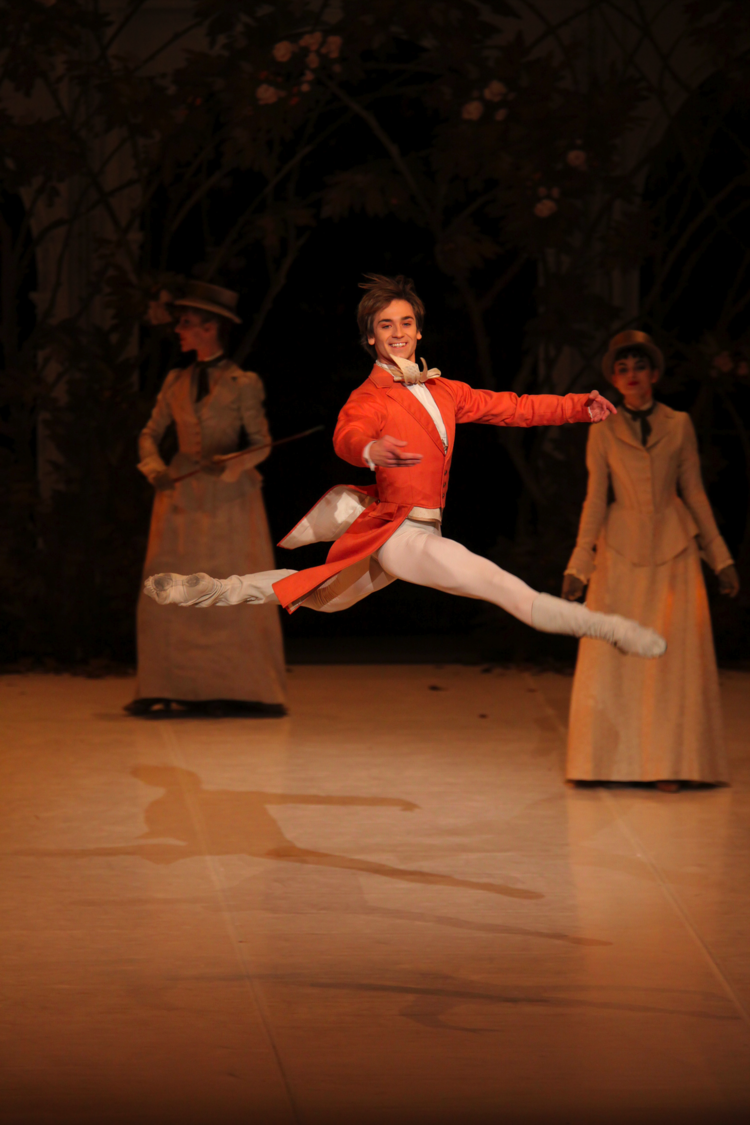 Friedemann Vogel in the Sleeping Beauty Photo: Hasegawa