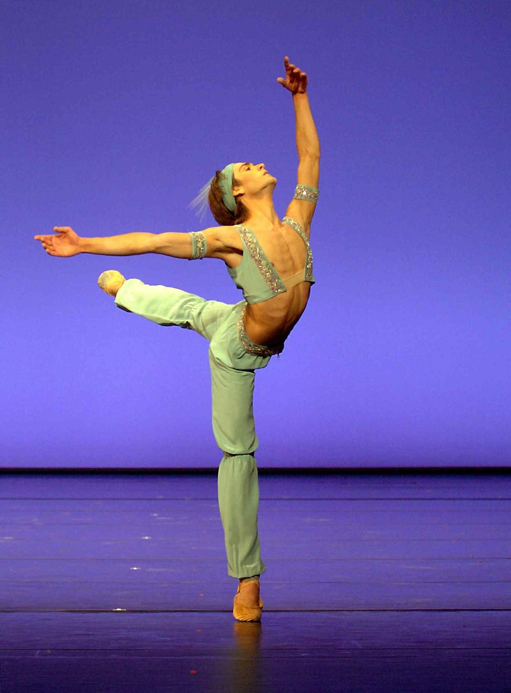 Friedemann Vogel in La Bayadere Photo ©Stuttgart Ballet