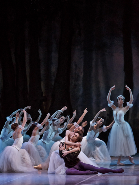 Svetlana Zakharova and Friedemann Vogel in Giselle ©Photo Martin Divisek