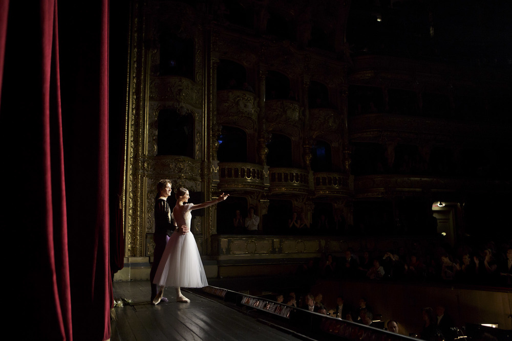 Svetlana Zakharova and Friedemann Vogel Curtain Call  ©Photo Martin Divisek