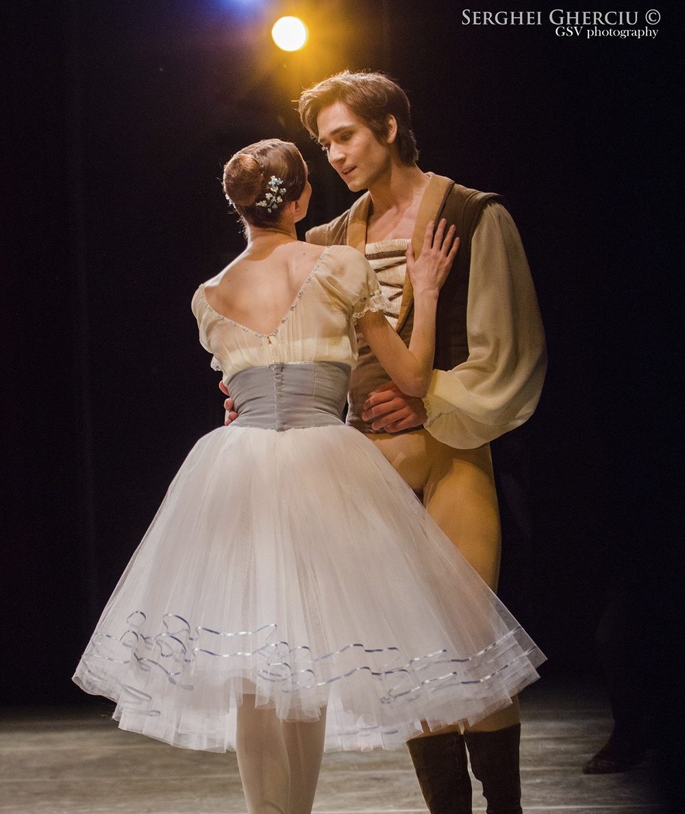 "Friedemann Vogel and Svetlana Zakharova ""Giselle"""