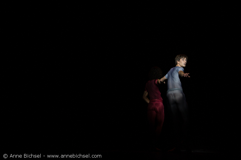 Friedemann Vogel and Oscar Chacon in ''Songs of a wayfarer'' with BBL Photo (c) Anne Bichsel