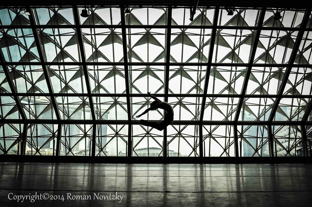 Friedemann Vogel in Singapore Dance Studio (c) Roman Novitzky