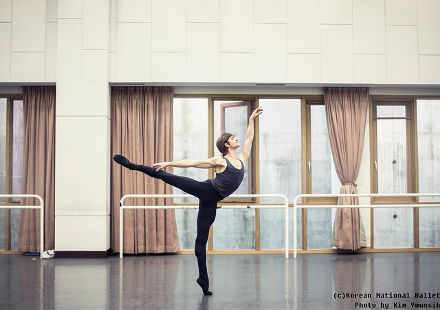 Swan Lake rehearsal with Korean National Ballet  Photo (c) Kim Younsik