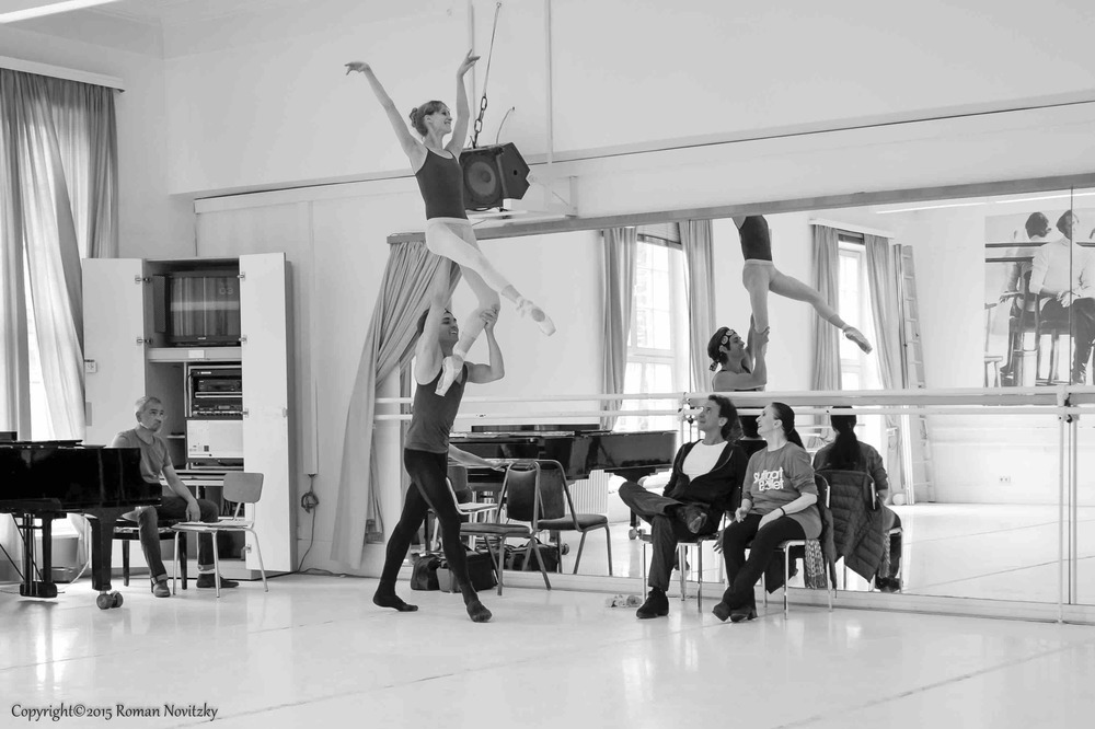 Legende rehearsal  with Marcia Haydée, Tamas Detrich, Alicia Amatriain, Friedemann Vogel  Photo (c) Roman Novitzky