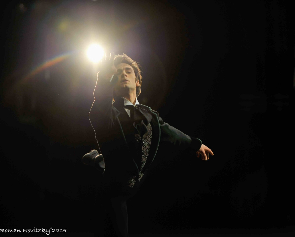 Friedemann Vogel as Onegin Photo (c) Roman Novitzky