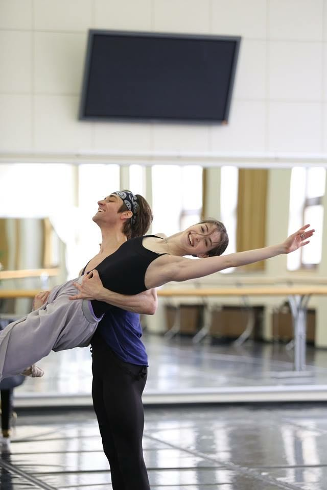 Ksenia Ryzhkova and Friedemann Vogel (c) Svetlana Avvakum A