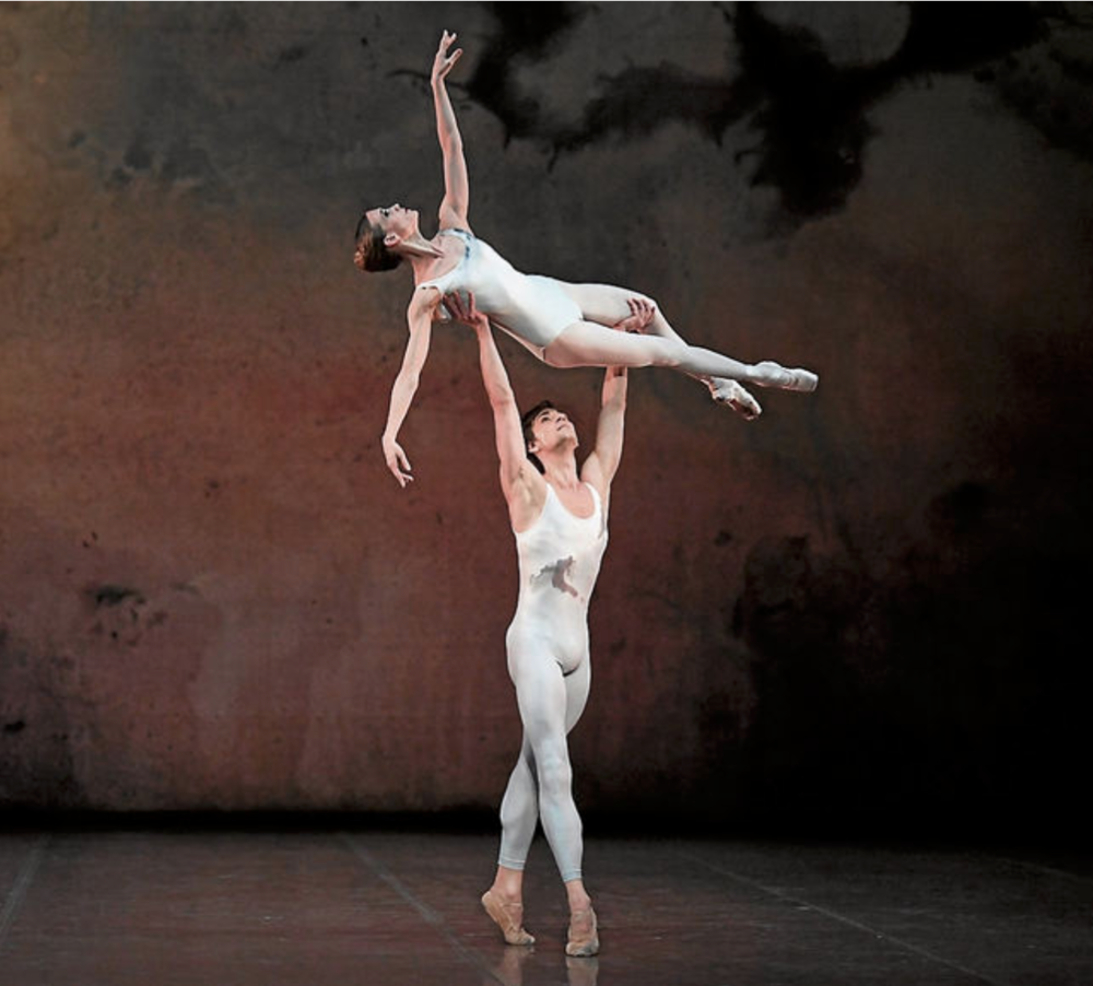 Alicia Amatriain and Friedemann Vogel (c) Stuttgarter Ballett