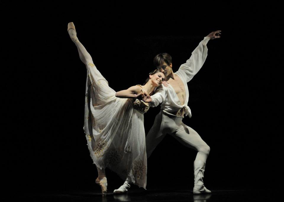 Polina Semionova and Friedemann Vogel (c) Charles Tandy