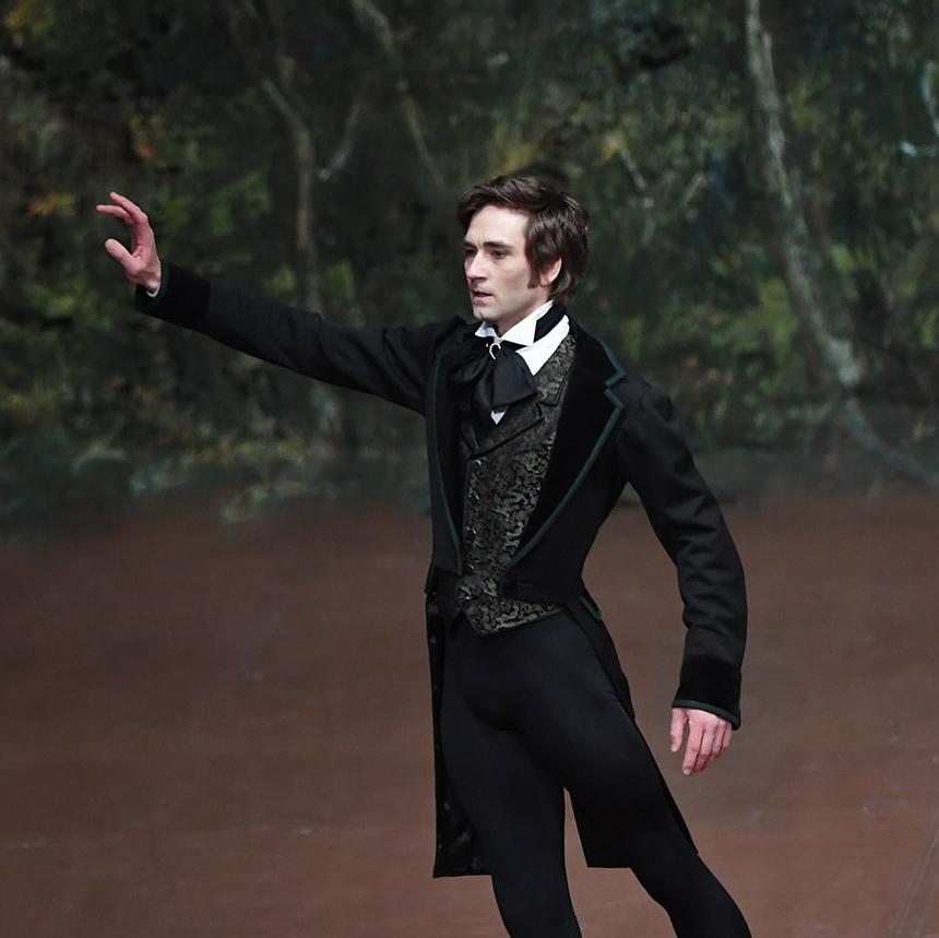 Friedemann Vogel Onegin John Cranko (c) Stuttgart Ballet