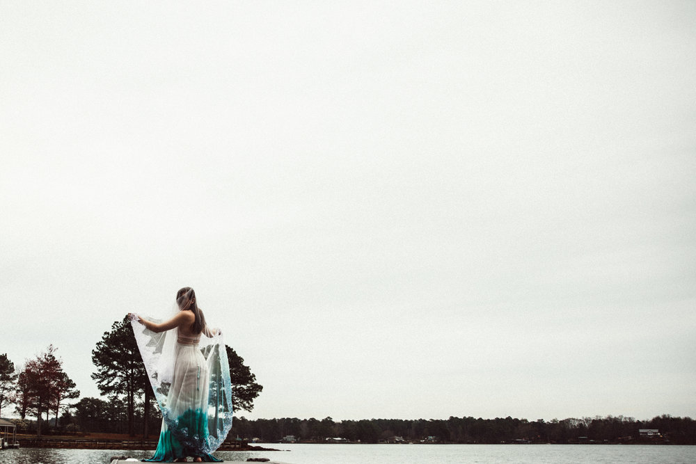 lake martin alabama bridal session