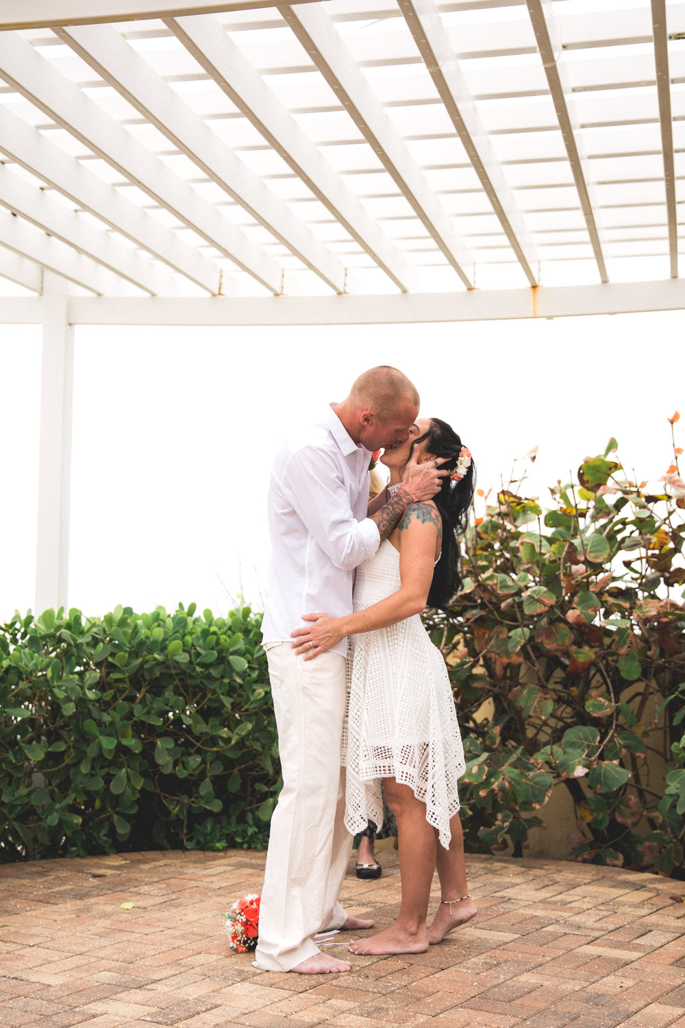 daytona beach shores wedding