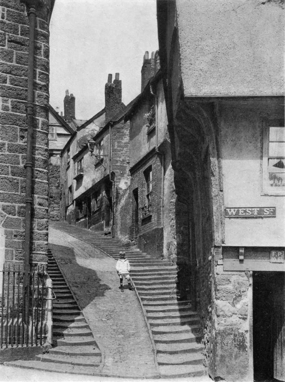 Devon, Exeter, West Street c1930's 1280pix.jpg