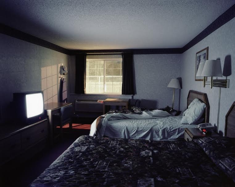 Clean Rooms, Low Rates is a collaboration between the photographer Brendan Barry and writer Jeff Parker. Over the past few years Barry has logged 22,000 miles driving back and forth across the US, photographing, among other things, empty hotel rooms, and writer Jeff Parker provided fictional texts to go with the photographs.  Barry will be talking about the work and his associated project Broken Roads, and Parker will be reading a selection of the stories that accompany the work.   Tickets £2    Student: Free