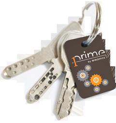 Klicken Sie auf den Schlüsselbund, um Ihren Prime KeyRefinder zu registrieren.