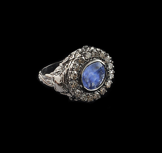 Oxidised-Silver-4.5ct-Blue-Sapphire-and-Diamond-Cocktail-Ring.jpg