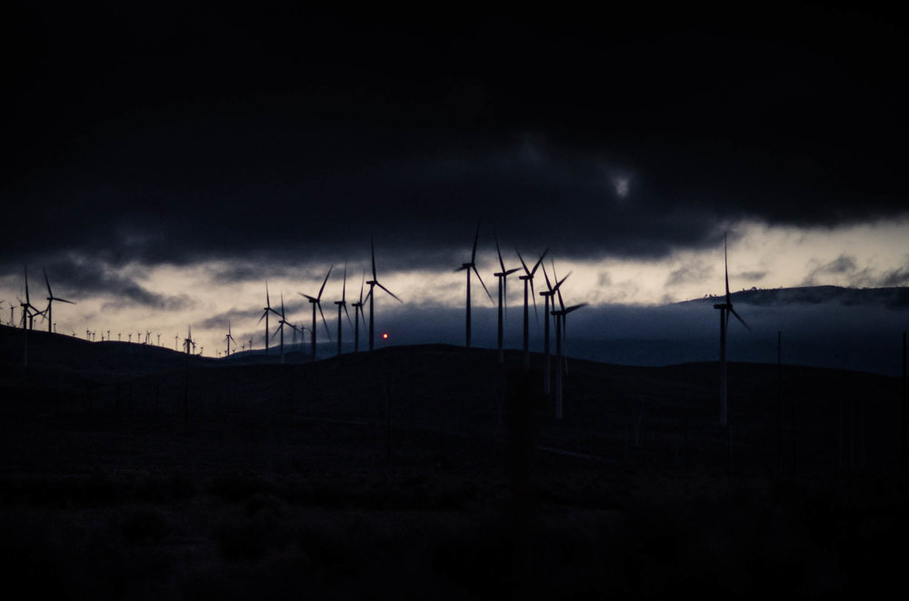 Wind Turbines, CA