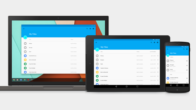 Free Design Resources For Google Material Design The Desk Of - Google design templates