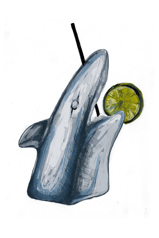 Lucky Joe's | But Dad, It's Shark Week!