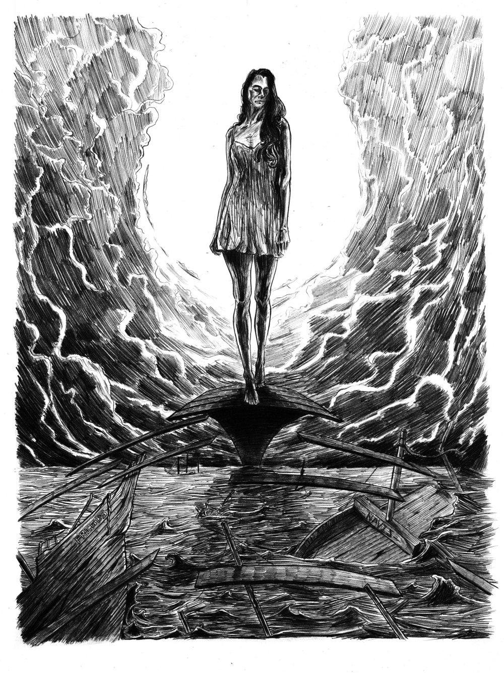 Final Drawing/ Label Illustration