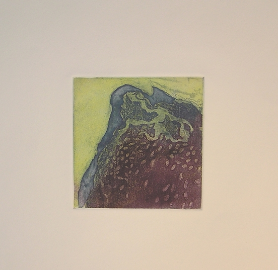 Bog II, etching & aquatint by Kate Higley