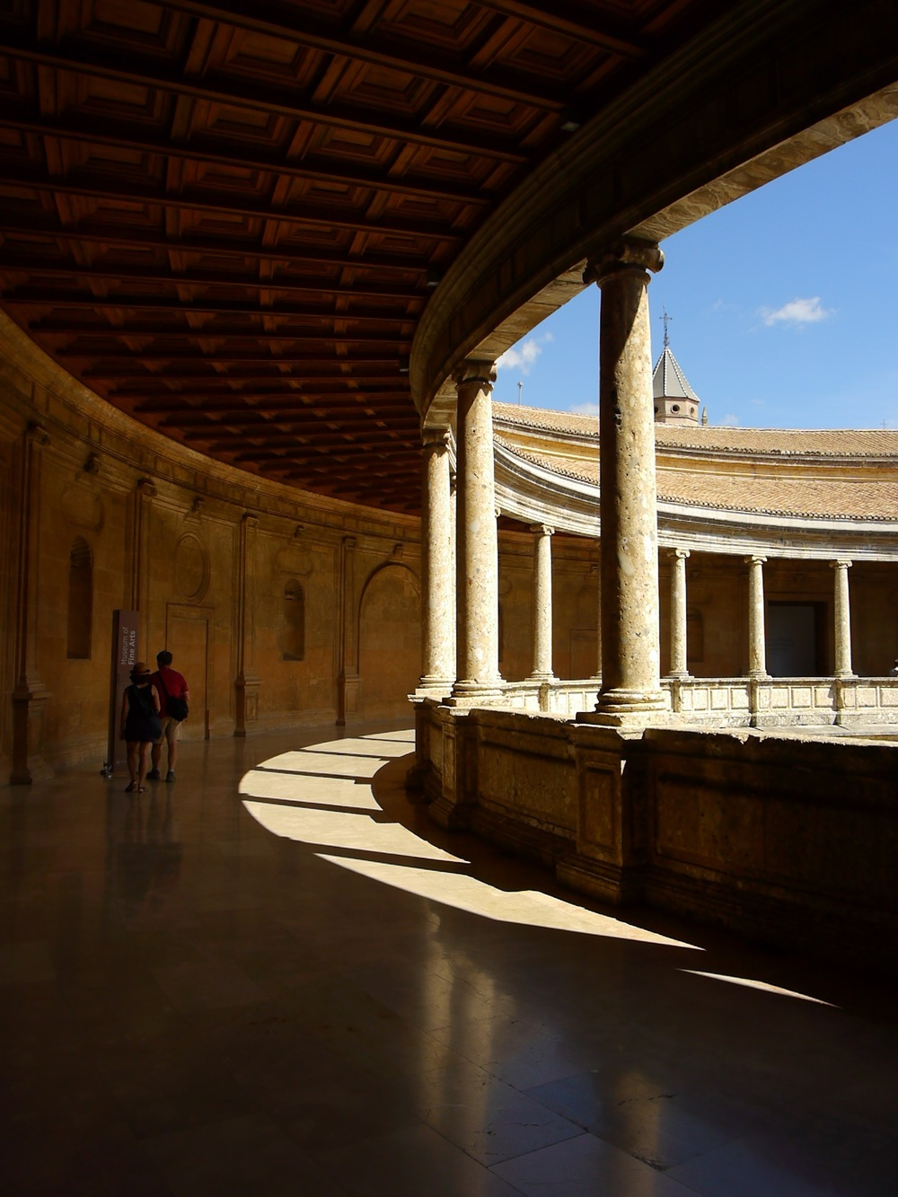 Granada, Spain- What you can see of the Alhambra for free