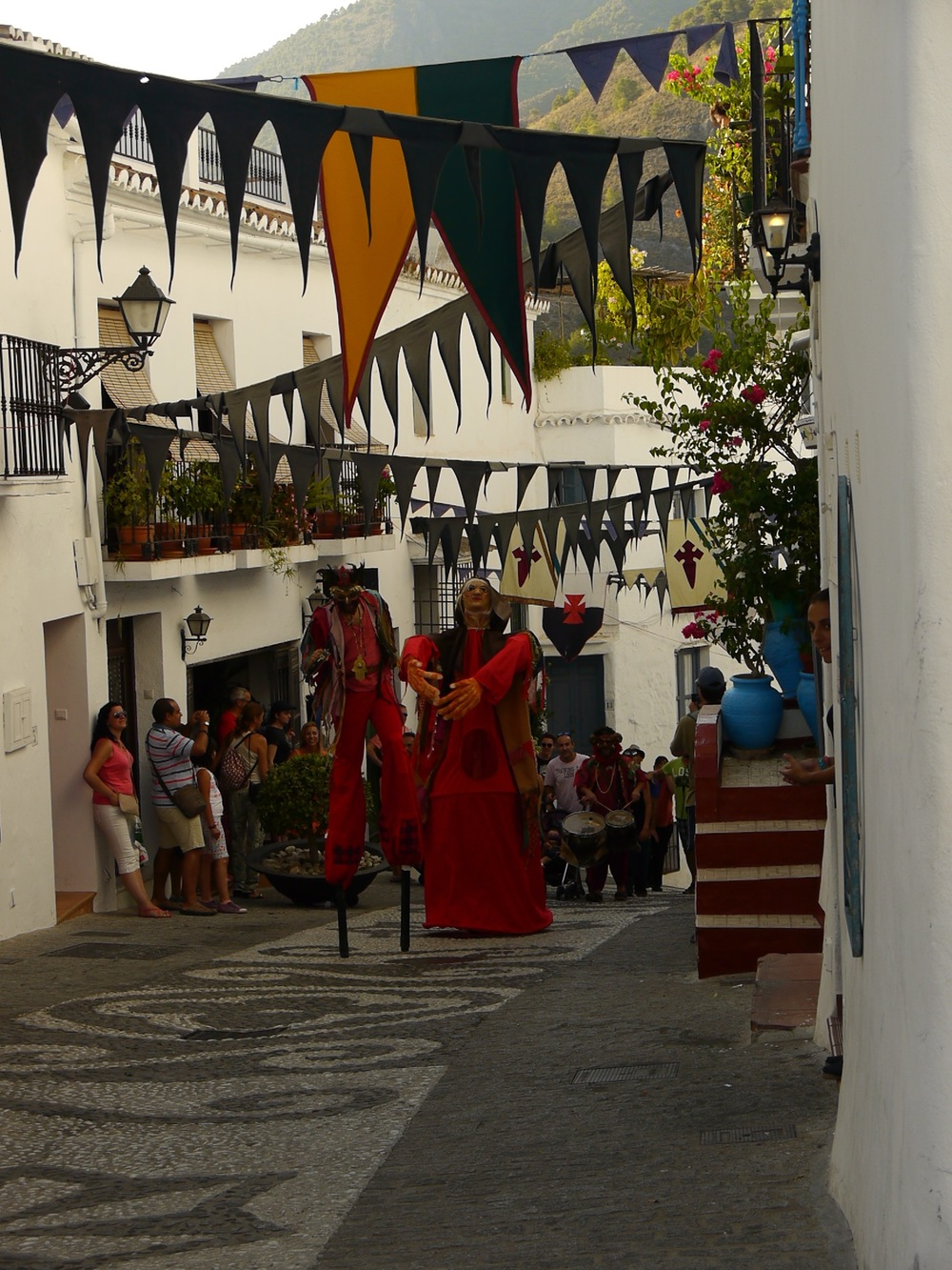 Frigiliana, Spain- Cultural festival with everything from tapas to handmade incense to street bellydancing.