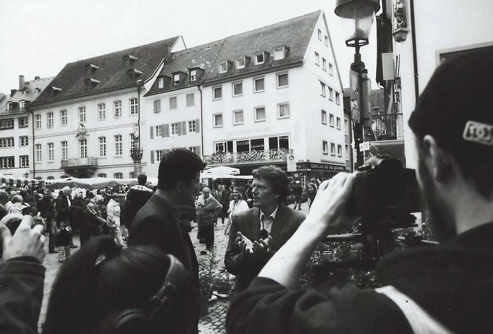 »Von der Universität auf den Marktplatz«. Im Dialog mit Hartmut Rosa.
