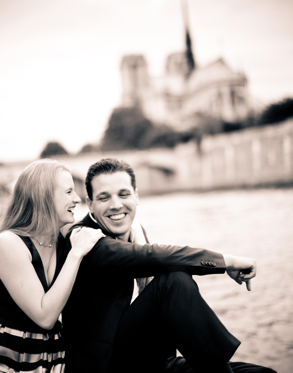 Alicia & Shane, Paris, France