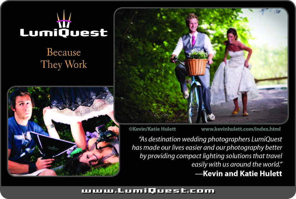 Lumiquest's ad that has appeared in numerous publications worldwide