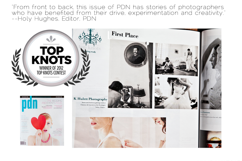 First Place Winners, PDN Magazine, New School of Wedding Photography