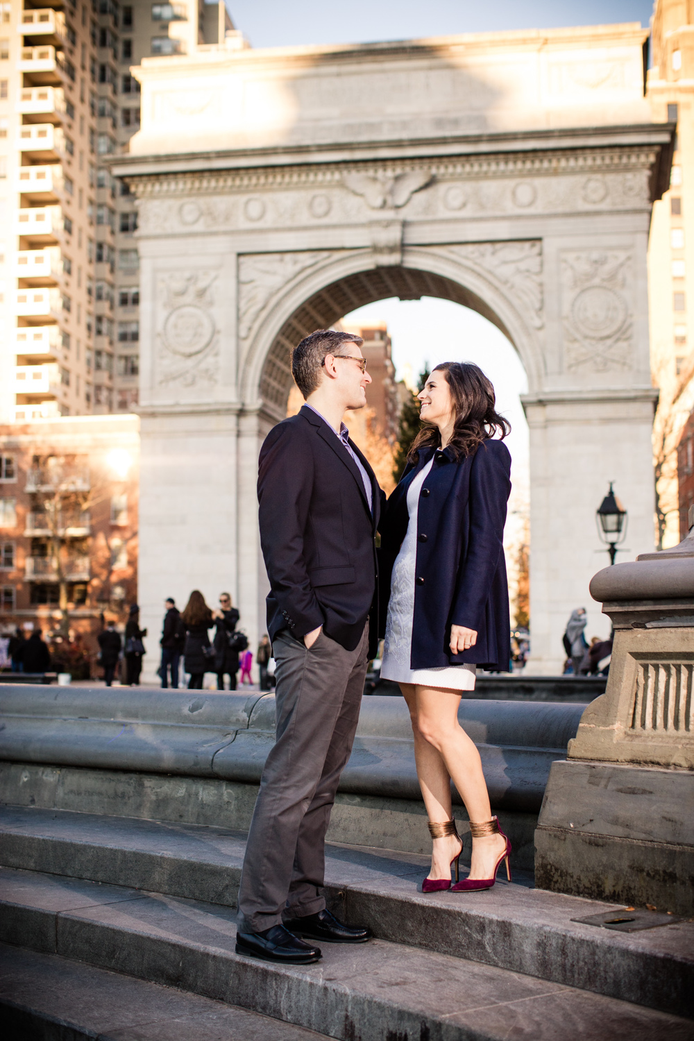 Alex & Nicole, Washington Square Park, New York City