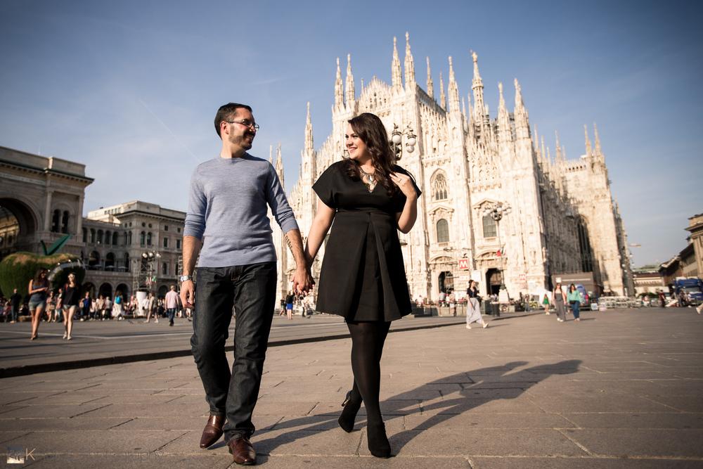 Milan, Italy with Patrick & Suzy