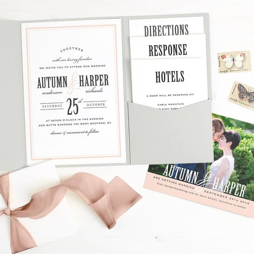 Wedding invitations and save the date cards with basic invite k basic invite is an innovative online design company where wedding invitations and stationery are the name of the game with over 200 wedding invitation stopboris Gallery