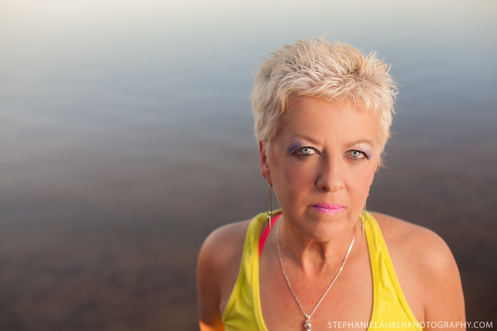 Joan, Yellowknife Portrait Photography, Zumba Fitness, Summer, 2014.