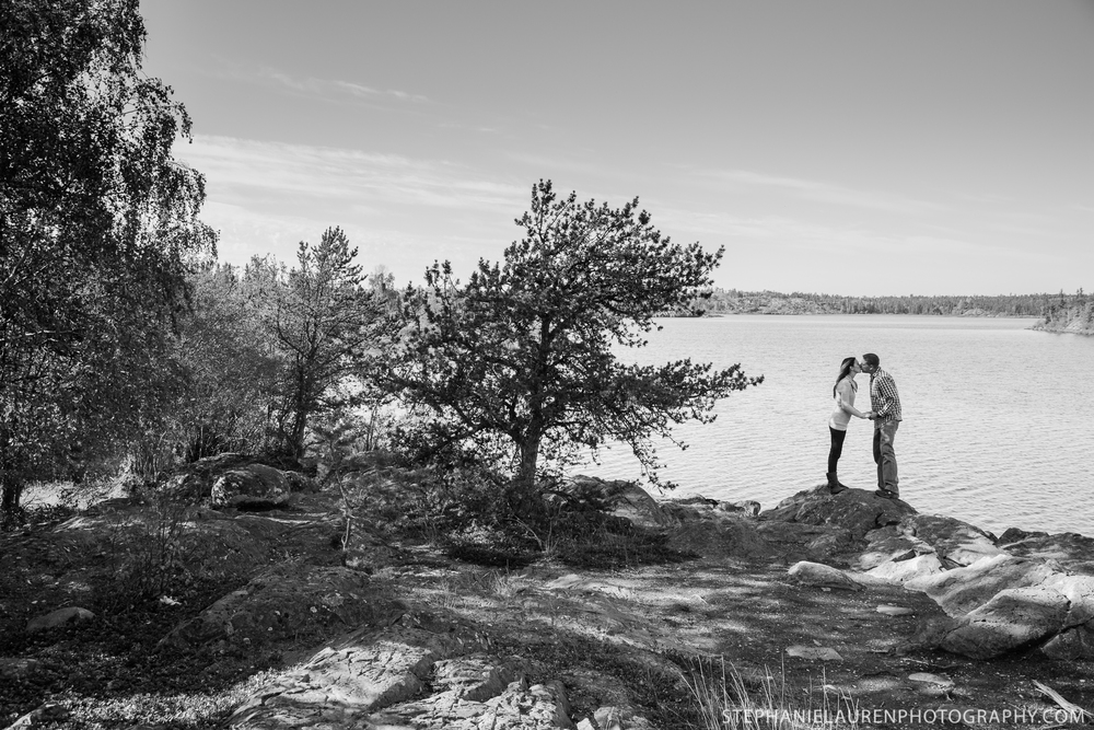 Mike and Arielle Taekema, Yellowknife Portrait Photography, Northwest Territories, Frame Lake Trail, Stephanie Lauren Photography, 2014.