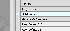 Make sure you set the construction settings to metric for Solidworks.