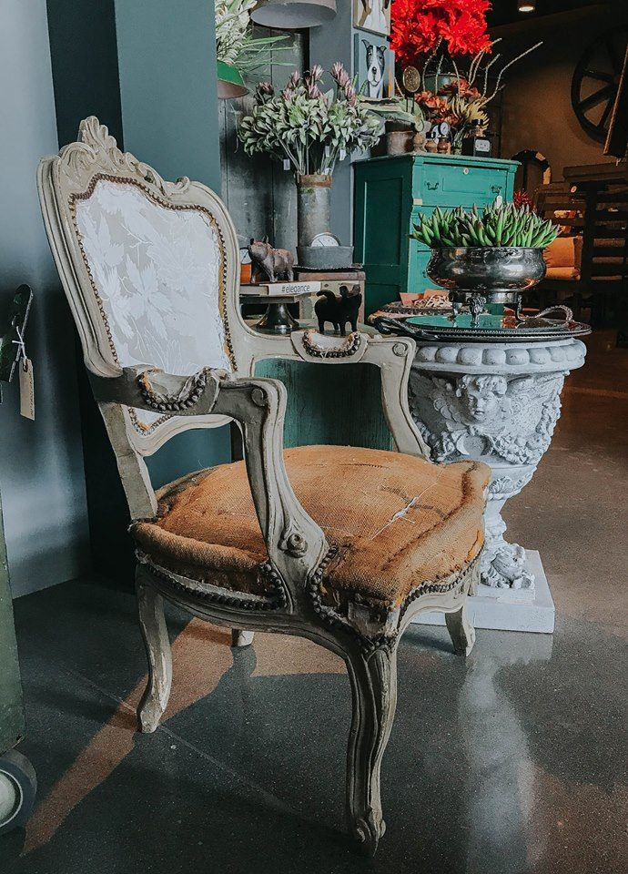 Louis XV French Shield Back Chair
