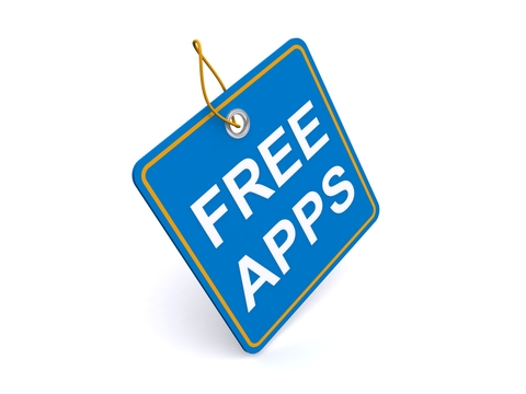 http://www.dreamstime.com/stock-image-illustration-free-apps-tag-image25777241