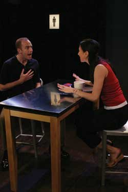 Michael Anderson and Karin Sibrava in DATING GAMES