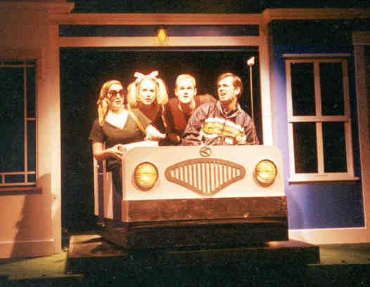 Joanne Bonasso, Pippa Winslow, Casey Burden and Jeffrey Gimble in I LOVE YOU, YOU'RE PERFECT, NOW CHANGE