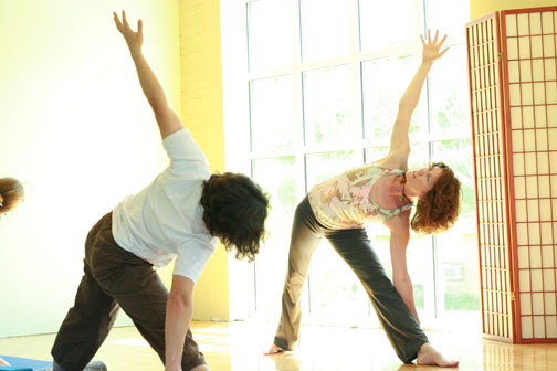 Teaching at Main Street Yoga in Madison WI