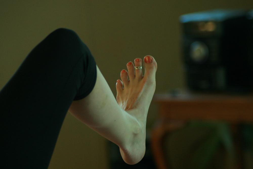 Yoga Toes!