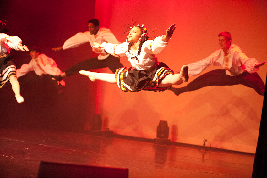 The Nutcracker: Russian Dance.  Alabama Youth Ballet.