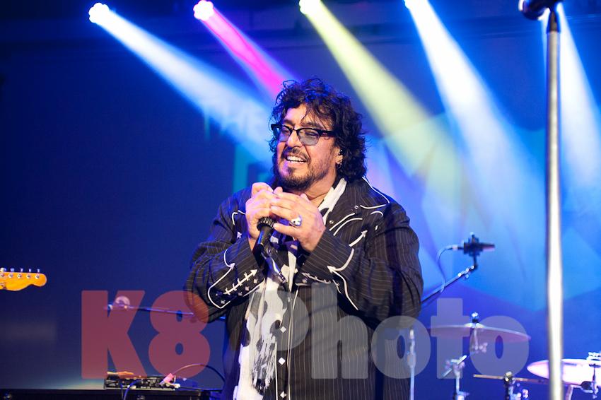 Keyboard and harmonica player, Teddy Andreadis