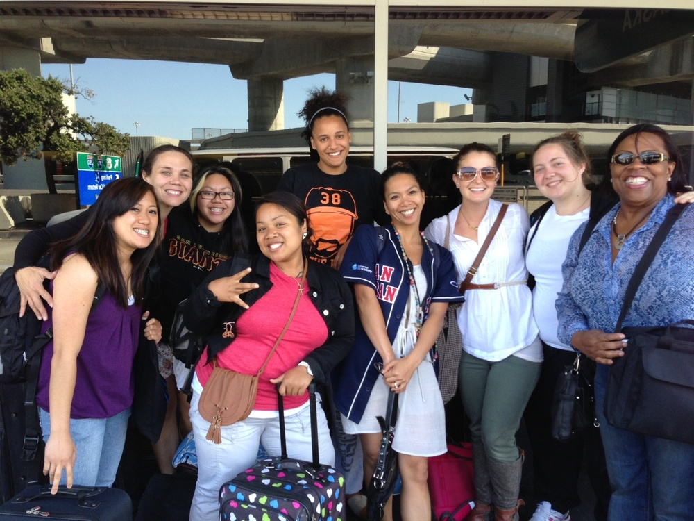 SFCA staff on their way to New York | 10.3.12