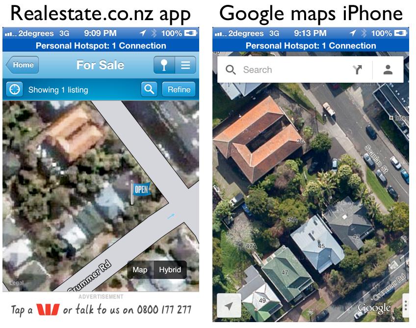 Realestate app vs Google maps.png