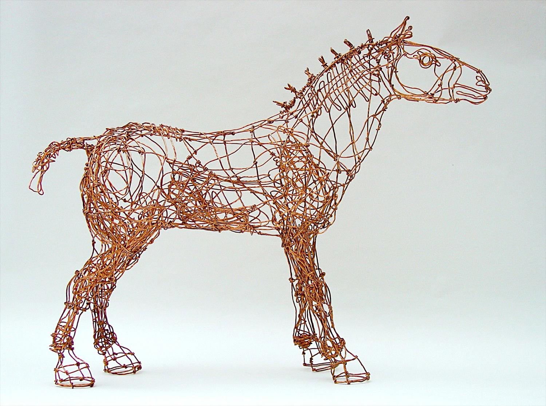 Copper Wire Creatures — Barbara Franc